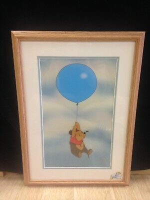 """Disney Certified Sericel Limited Edition Winnie The Pooh """"Silly Old Bear"""""""
