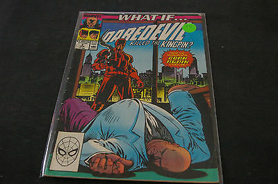 Marvel Comics What If...? #2 Aug 1989 DAREDEVIL KILLED THE KINGPIN?