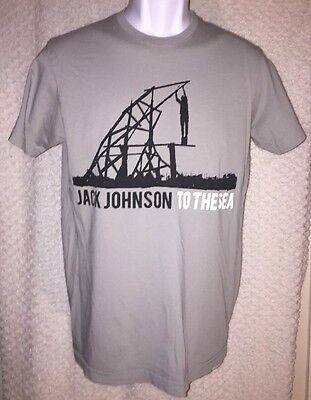 2010 Jack Johnson To The Sea Concert tour T-shirt size adult small