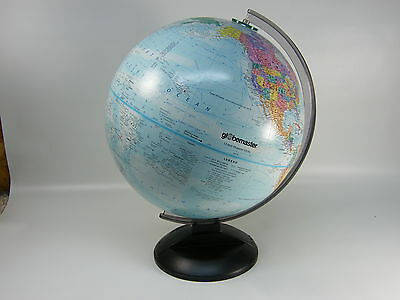 "Globemaster 12"" Diameter World Globe with Raised Relief"