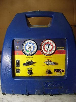 Yellow Jacket r60a Hermetric Refrigerant Recovery System