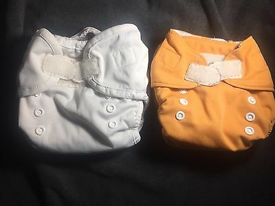 Thirsties Size 1 Lot Duo AIO And Duo Pocket Cloth Diaper