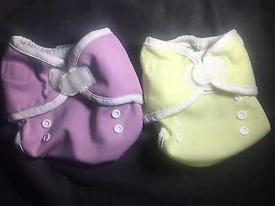 Thirsties Duo Diaper Covers Size 1 VGUC Cloth Diapers