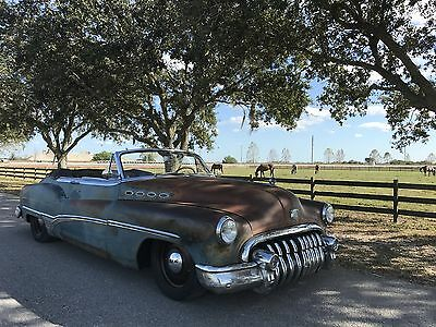1950 Buick Roadmaster TLC / ICON Derelict 1950 Buick Roadmaster TLC / ICON Derelict Convertible