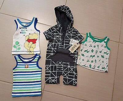 Mixed baby boy clothes items - brand new