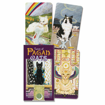 Tarot of Pagan Cats Deck Cards NEW IN BOX by Lo Scarabeo Full Size Edition