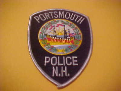 Portsmouth  New Hampshire Police Patch Shoulder Size New