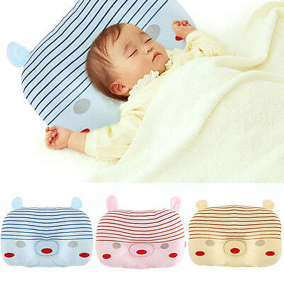 Newborn Infant Baby Pillow Flat Head Sleeping Positioner Support Cushion Prevent