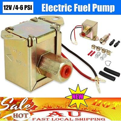 Electric Fuel Pump 12V Petrol Diesel Oil Transfer Racing Auto Car Universal NEW