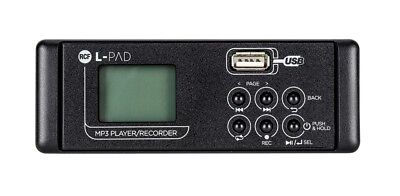 RCF SMP-R MKII, L-PAD, MP3 Player Card, Recording per LivePad