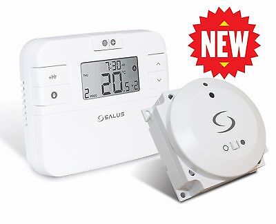 New Salus RT510BC Digital Programmable Wireless Thermostat - Replaces RT500BC