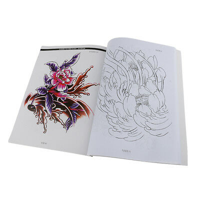 CHINA FLOWER PAINTING Drawing Tattoo Flash Sketch Reference