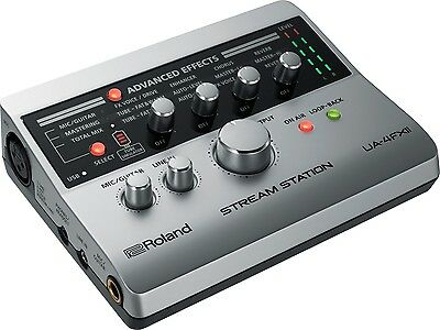 ROLAND UA4FX2 Stream Station Interfaccia Audio per Webcasting