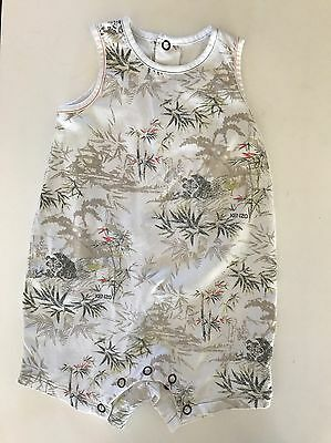 KENZO Kids Baby Playsuit Size 00 6 Months