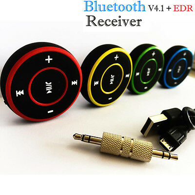 3.5mm Wireless Bluetooth Audio Stereo Adapter Car AUX Music Receiver Dongle KF
