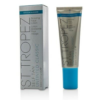 St. Tropez Self Tan Untinted Classic Bronzing Face Lotion 50ml Sun Care