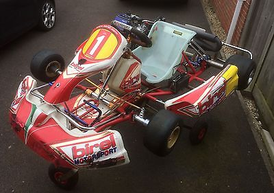 Birel 2011 Senior Rotax Max 125cc (with Trolley and Spares)
