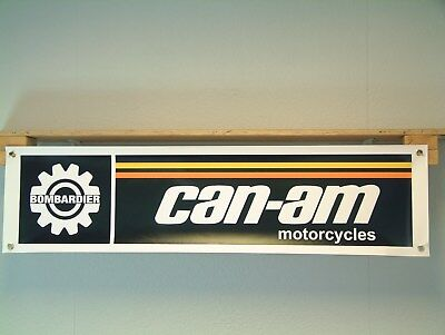 CAN-AM Motorcycle Banner MX workshop Bombardier qualifier MX1 175 250 370 MX2