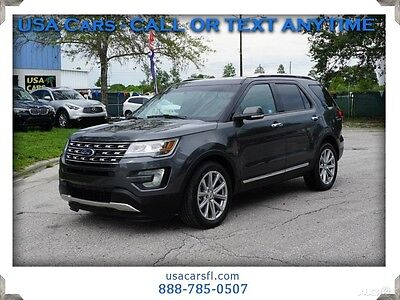 2017 Ford Explorer Limited 2017 Ford Explorer Limited  3.5L V6 Navi Camera  Front and Rear Leather w/ heat