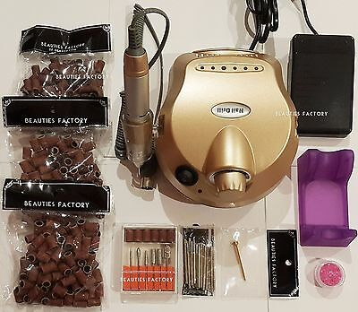 BF Professional Nail Salon Home Use Electric Nail File Drill Manicure Set 900