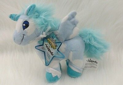 Neopets CLOUD UNI Plush 2008 Keyquest Virtual UNUSED CODE Series 3 NWT Unicorn P