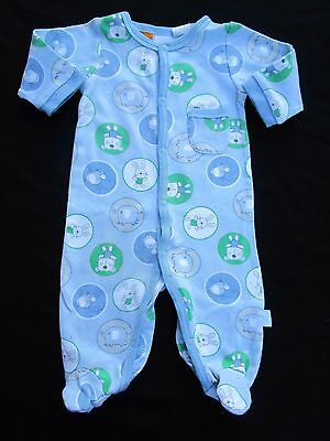 Baby boys Pumpkin Patch blue all in one cover all  size 000 for 0-3mths of age