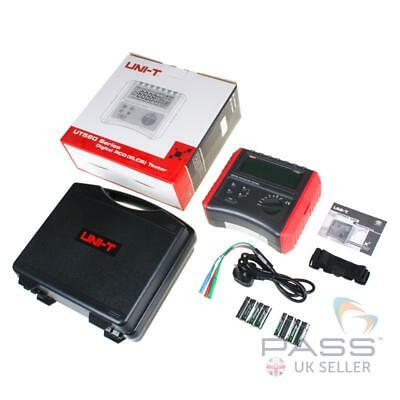 *NEW* UNI-T UT585 Digital RCD Tester with Selectable Ranges + Case and Leads / U