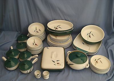 Denby GREENWHEAT DINNER SERVICE - VARIOUS ITEMS AVAILABLE - EXC COND