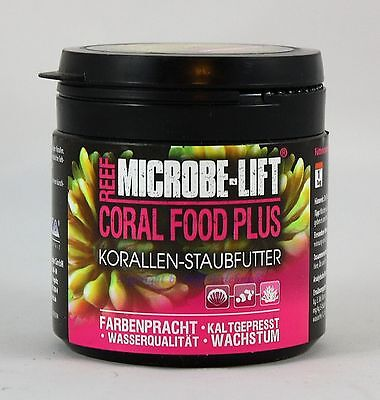 Coral alimentaire Plus korallen-staubfutter 150ml MICROBE-LIFT 13,93€/ 100ml