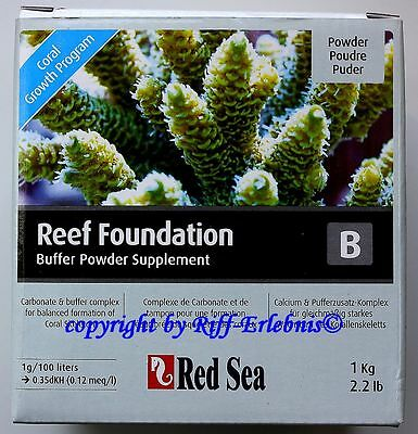 Red Sea Reef Foundation B 1kg Calcium et pufferzusatz Powder 23,95€/ kg
