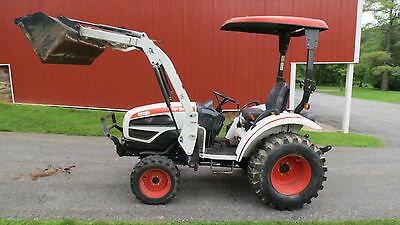 2010 Bobcat Ct235 4X4 Compact Utility Tractor W/ Loader Hydro 356 Hours 34Hp