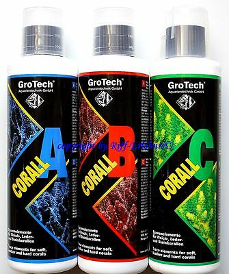 Grotech CORAIL A B C Set 3x250ml Gro TECH 39,32€/ L