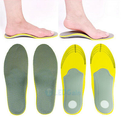 2xComfort Orthotic Arch Support Shoes Insoles Pads Cushion Pain Relief Foot Care