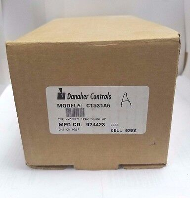 Danaher Controls CT531A6 Timer with display 120V 50/60 HZ
