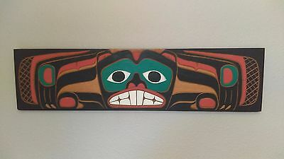 Pacific Northwest Coastal Salish Beaver relief carving