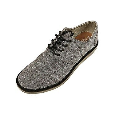 bf6f153cada NEW MEN TOMS Brogue Chocolate Brown Aviator Twill Original 10009003 ...