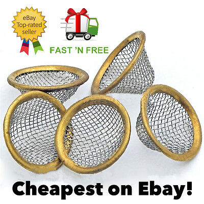 20mm Pipe Screens Gauzes Conical Steel Brass Filter Screen Bowl Mesh Metal