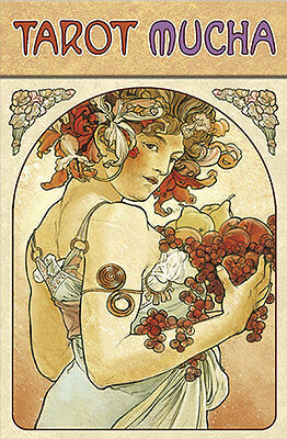 Tarot Mucha NEW IN BOX by Lo Scarabeo Deluxe Cards Art Nouveau
