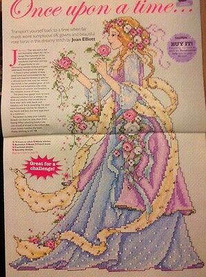air goddess by joan elliott cross stitch chart � 163699
