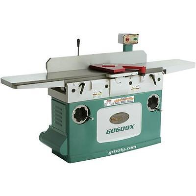 """G0609X Grizzly 12"""" Jointer  with Spiral Cutterhead"""