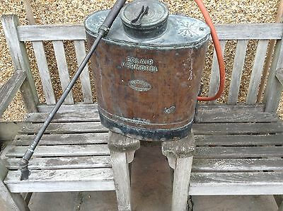Antique French Copper Backpack Sprayer made by Vermorel