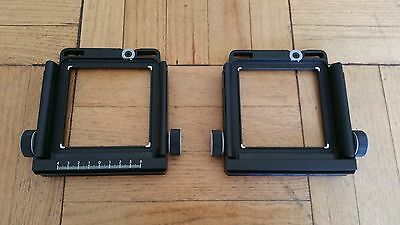 Arca-Swiss Format Standard 6x9 F-classic, Front and Rear