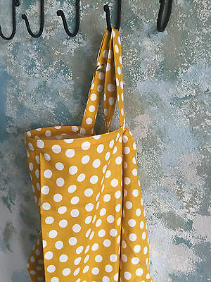 "NEW  >NURSING COVERMILKY BABY hider* BREASTFEEDING COVER XL 42X27"" DOTS"