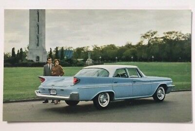 1960 De Soto Fireflite 4-door Sedan Promotional Postcard
