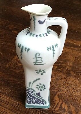"Delft Groen Genuine ""de Porceleyne Fles"" Labouchere 1903 Antique Jug"