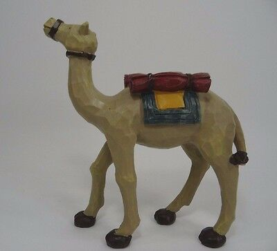 Nativity Figurine Camel Resin Carved Willow Tree?