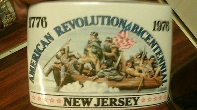 Rare New Jersey, Early Times American Revolution 1976 Bicentennial Decanter