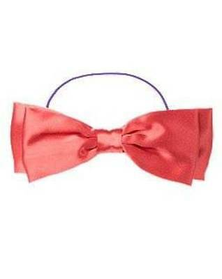 NWT Gymboree Girls FALLING FOR FEATHERS Satin Bow Headband ~ Hair Accessory~PINK