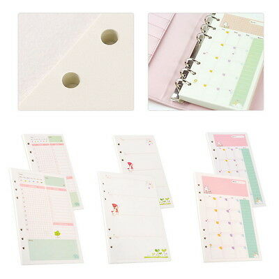 Vogue A5 Six-Hole Cartoon Month Weekly Plan Daily Planner Diary Schedule