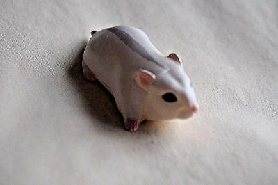New JAPAN KAIYODO FURUTA Choco Egg Animal Pet Miniature White Hamster Mouse